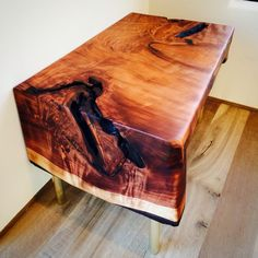 Table of 1,0000 year old cedar by thewoodenpalate.com