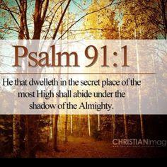 Psalms 91:1 = 911 He is my help!