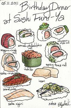 : : Birthday Dinner at Sushi Funi-Ya | Flickr - Photo Sharing! : :