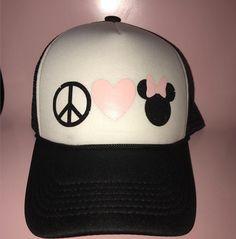 A personal favorite from my Etsy shop https://www.etsy.com/listing/505953110/disney-hats-trucker-hat-disney-hats