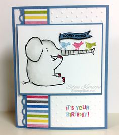 1/4 Henry Says It's your Birthday, Stampin' Up Occasions Mini