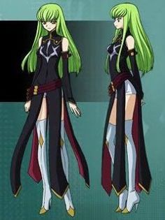 Commission Request Code Geass C.C Cosplay Costume CP178678