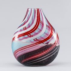 Vaso em Murano dos anos 50, 39cm de altura, 3,010 USD / 2,670 EUROS / 10,240 REAIS / 19,770 CHINESE YUAN