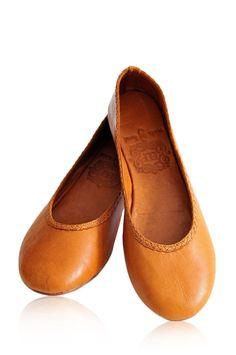 AISÉ. Ballet flats / leather shoes / womens shoes / by BaliELF, $110.00