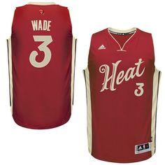 11e876e88c2 Find NBA Season Miami Heat Dwyane Wade Day Wine Jersey Christmas Deals  online or in Footseek. Shop Top Brands and the latest styles NBA Season  Miami Heat ...