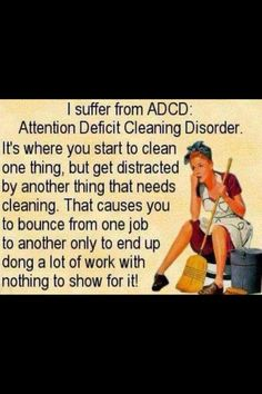 Cleaning A.D.D.