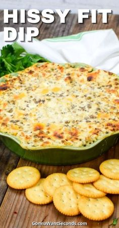 *NEW* Our Hissy Fit Dip is a luscious hot cheesy, sausage dip that's always a big party favorite and perfect for holidays! Easy to make, impossible to stop eating! Ready for a new Favorite? #Party #Dips #Appetizer #HissyFitDip #PartyFood #SuperBowl #Sausage #PartyDip Best Party Appetizers, Best Appetizer Recipes, Party Dips, Appetizer Dips, Yummy Appetizers, Dip Recipes, Snack Recipes, Yummy Recipes, Dinner Recipes