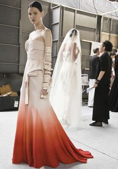 Backstage Givenchy Couture F/W 2009