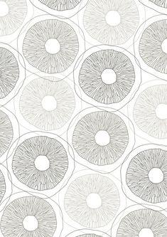 sarahrenwick: mushroom pattern from line drawing. Mushroom pattern from line drawing Illustration Ligne, Pattern Illustration, Motifs Textiles, Textile Patterns, Surface Pattern Design, Pattern Art, Pattern Ideas, Graphic Patterns, Print Patterns