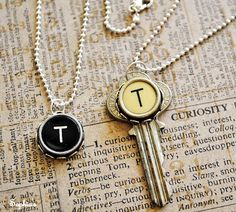 Recycle Old Typewriter Keys into Jewelry! - The Beading Gem's Journal