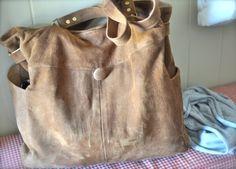 Repurposed Vintage Suede Jacket - Tidy Tangle
