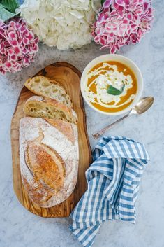 Roasted Veg Soup with Feta & Sage – The Londoner