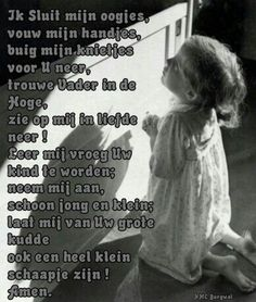Gebed voor kinderen.