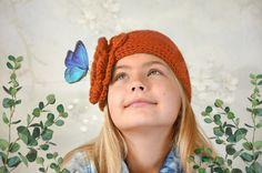 Big Flowers, Leather Earrings, Merino Wool, Knitted Hats, My Etsy Shop, Beanie, Knitting, Crochet, Handmade