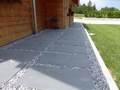 1000 ideas about resine sol exterieur on pinterest - Dalle en granit pour terrasse ...