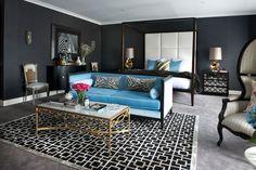 living room design by interior decorator in balwyn