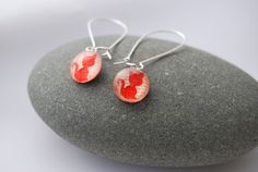 Your place to buy and sell all things handmade Cat Jewelry, Jewelry Accessories, Jewelry Design, Red Cat, Pink Cat, Cat Lover Gifts, Cat Gifts, Silver Earrings, Drop Earrings