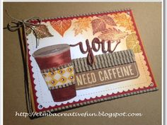 I'm hopping along today with the a2zscrapbooking DT's  participation in the    Fall Coffee Lover's Bloghop !      Here's my firs...