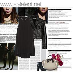 black n leather Black Leather, Cocktail, Polyvore, Image, Fashion, Moda, La Mode, Fasion, Cocktails