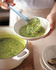 *Creamy Ramp and Barley Soup/ wholeliving.com