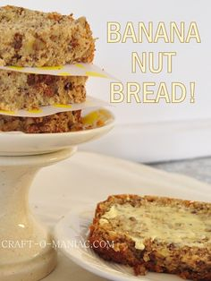 """I truly love baking and I don't do it often enough, so I had to get my bake on stat, so today I am sharing """"The Best Banana Nut Bread!"""" I do tend to do a lot more baking around the fall, I mean' its the perfect time of year to do it… I know …"""