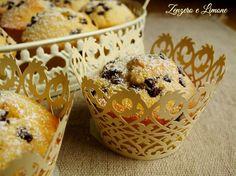 muffins al latte e gocce cioccolato
