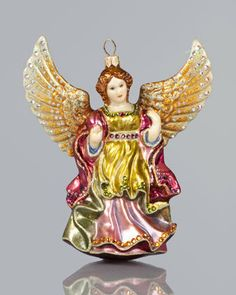 Angel Christmas Ornament - Jay Strongwater prod162510336skuMULTICOLORS