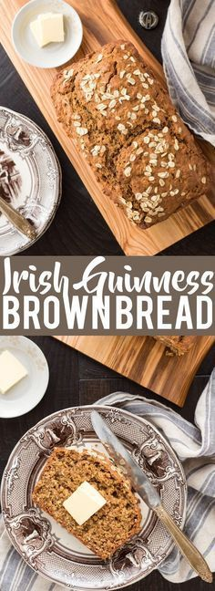 Frugal Food Items - How To Prepare Dinner And Luxuriate In Delightful Meals Without Having Shelling Out A Fortune Irish Guinness Brown Bread Saint Patrick's Day Recipes Irish Recipes Quick Bread Recipes Beer Bread Quick Bread Recipes, Beer Recipes, Irish Recipes, Quick Meals, Baking Recipes, Dessert Recipes, Recipies, Cool Recipes, Irish Meals