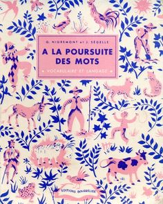 vintage french textbooks