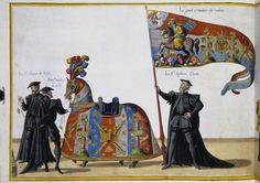 Funeral Procession in Brussels on the Occasion of the Death of Emperor Charles V. Sheet 6