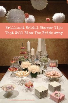Brilliant Bridal Shower Tips That Will Blow The Bride Away