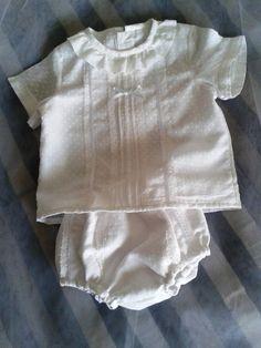 conjunto blanco bebé en plumeti bordado  079e5b80cd1