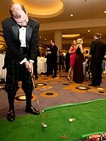 Idea for fundraising at golf themed gala