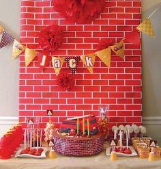 Shindig Diva » Blog Archive » Inspiration: Firetruck Baby Shower