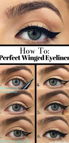 10 Easy Step-By-Step Eyeliner Tutorials For Beginners