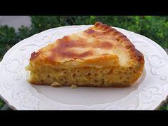 ΜΑΚΑΡΟΝΟΠΙΤΑ της Γκόλφως θα την αγαπήσετε Pie with spaghetti and cheese - YouTube Pie Crust Recipes, Lasagna, Quiche, Food And Drink, Breakfast, Ethnic Recipes, Desserts, Youtube, Morning Coffee