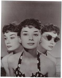 Angus McBean - Audrey Hepburn. Composite portrait, 1951