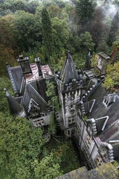 Abandoned Castle somewhere over the rainbow!