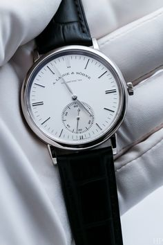 A. Lange & Söhne Saxonia White Gold (Reference 219.026)