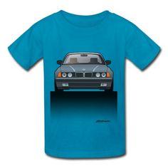 BMW 740i E36 Kids T-Shirt by Artsmoto #CarArt #CarTees | spreadshirt.com