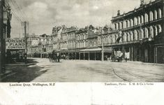 Lambton Quay, c. Wellington City, City Library, Picture Postcards, British Isles, World War I, Libraries, Old Photos, New Zealand, Louvre