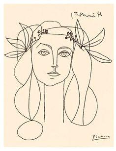 Francoise Gilot - Line Drawing
