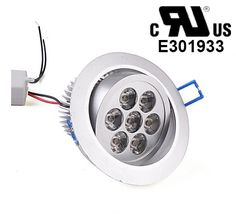 1W LED Down Light Recessed Ceiling Lamp White Bulb AC85V 265V