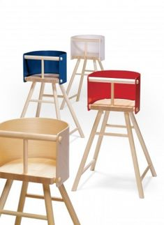 Scandinavian Highchair For Kids