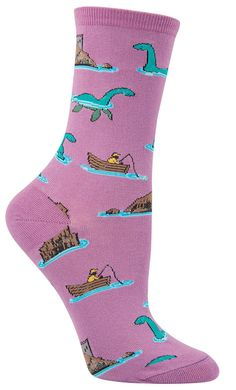 Loch Ness Socks from The Sock Drawer