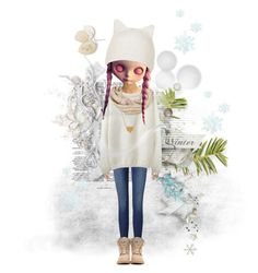 """""""Winter Is Here ♡"""" by foreeva ❤ liked on Polyvore featuring art"""