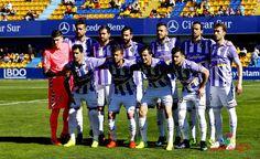 Equipos de fútbol: REAL VALLADOLID contra Alcorcón 19/03/2017