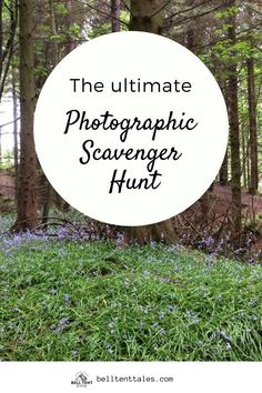Here's a great outdoor activity for kids (and adults) of all ages. You can have a photographic scavenger hunt camping, hiking, walking, or even at the local park.