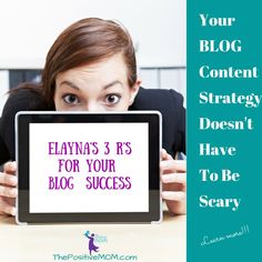 Your blog content strategy doesn't have to be scary - find out the 3 easy steps to succeed with your blog.