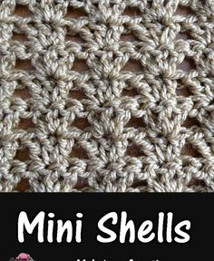 Meladoras Creations  |    Shells in a Row – Free Crochet Pattern